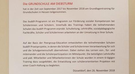 """""""BuddY""""an der Grundschule am Diebsturm: mehr Schülerpartizipation"""