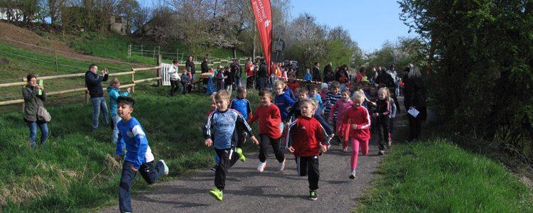 Crosslauf an der Grundschule am Diebsturm