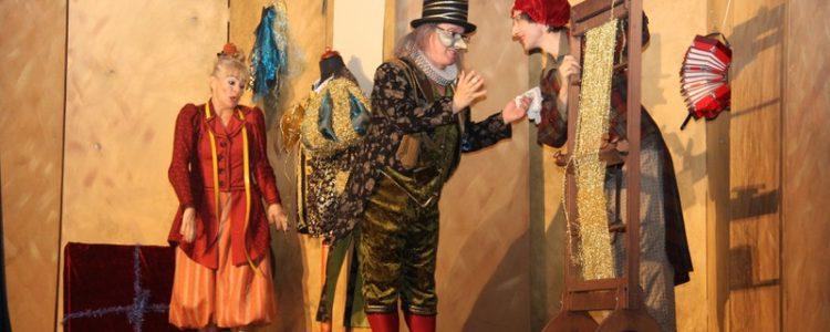 Theater Mimikri begeistert Kinder