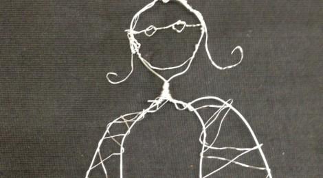 Kunst in der Schule: Engel aus Draht gestalten