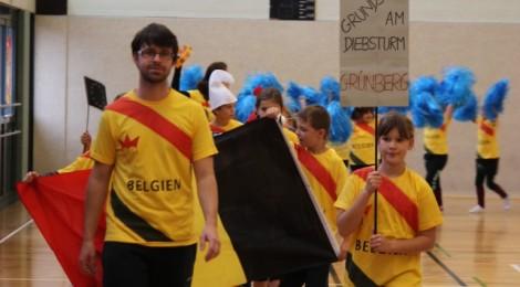 Wetteifern bei der Basketballeuropameisterschaft an der Justus-Liebig-Universität in Gießen