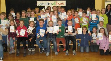 Viele Gewinner beim diesjährigen Leserattenwettbewerb 2014/2015
