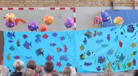 Begrüßungsfest für die Kinder der ersten Klasse und Vorklasse